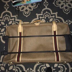Vintage 1970s Gucci Suitcase